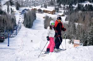 Ski au Mont Grands-Fonds