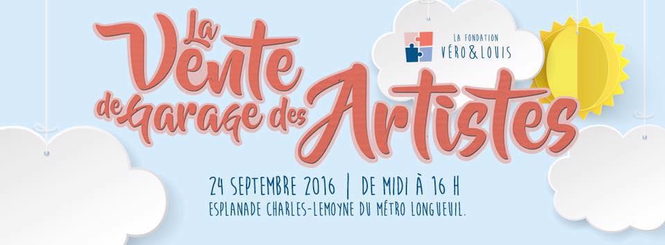 Gran venta de garaje de artistas el 24 de septiembre