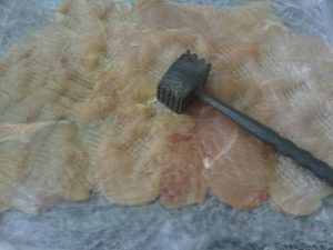 Receta de Pollo envuelto con Salsa Curry, Miel y Mostaza - Cecilia Landivar (1)