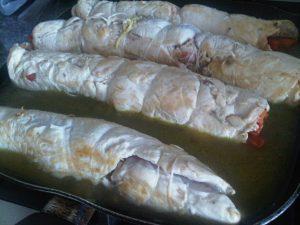 Receta de Pollo envuelto con Salsa Curry, Miel y Mostaza - Cecilia Landivar (11)