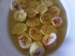 Receta de Pollo envuelto con Salsa Curry, Miel y Mostaza - Cecilia Landivar (14)
