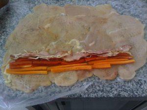 Receta de Pollo envuelto con Salsa Curry, Miel y Mostaza - Cecilia Landivar (5)