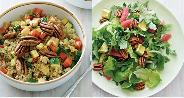 Receta de 2 deliciosas ensaladas saludables y sin gluten