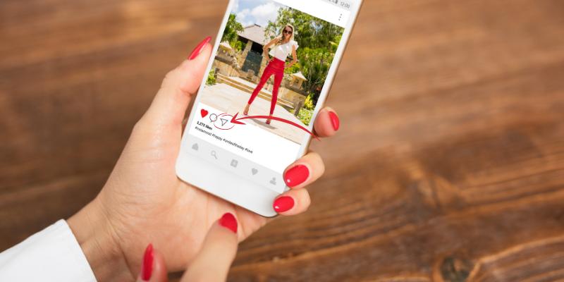 ¿Cómo puedo re-compartir contenido en Instagram?